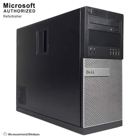Dell OptiPlex 9020 Tower Intel i5 4570 3.20G,16GB RAM,360GB SSD,DVD,WIFI,BT4.0,VGA,HDMI Adapter,WIN10P64(EN/ES)-Refurbished