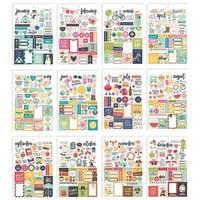 Simple Stories PE7974 Planner Essentials Seasons Sticker Tablet