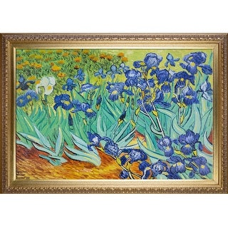 Vincent Van Gogh 'Irises' Hand Painted Oil Reproduction