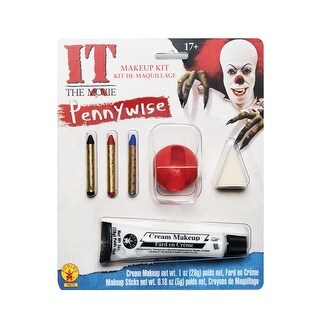 Rubies Pennywise Make-Up Kit - Multi