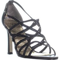 Adrianna Papell Elda Strappy Dress Sandals, Black - 8.5 us / 38.5 eu