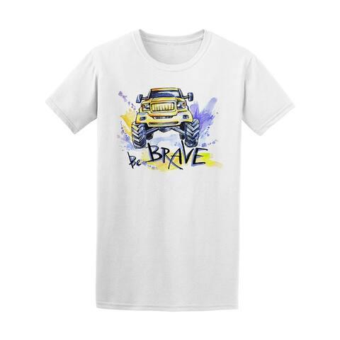 Be Brave Car Sport Tee Men's -Image by Shutterstock