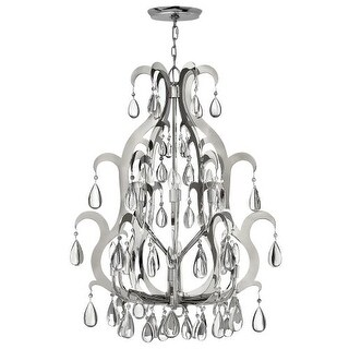Fredrick Ramond FR43352 12 Light 2 Tier Chandelier from the Xanadu Collection - Silver