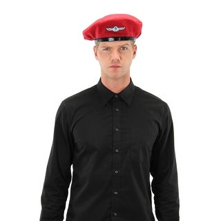 Doctor Who UNIT Red Beret Adult Costume Hat