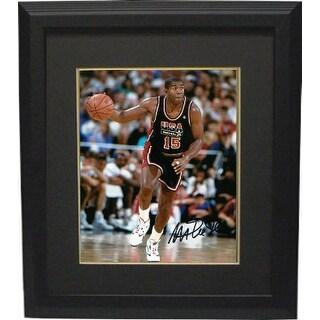 reputable site 2e18a 35a4c Shop Magic Johnson signed Team USA Olympic Dream Team 8X10 ...