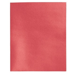 School Smart 2-Pocket Folders, Red, Pack of 25