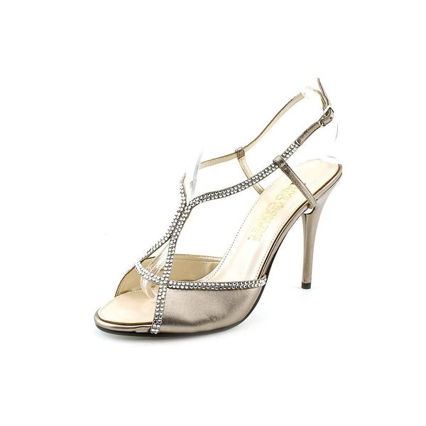 E! Live From The Red Carpet E0044 Womens Mushroom Metallic Sandals