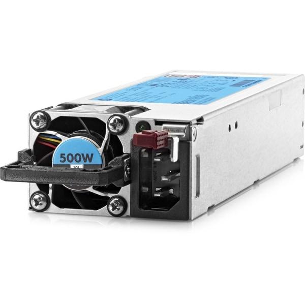 HPE 500W Flex Slot Platinum Hot Plug Power Supply Kit - 250 V AC (Refurbished)
