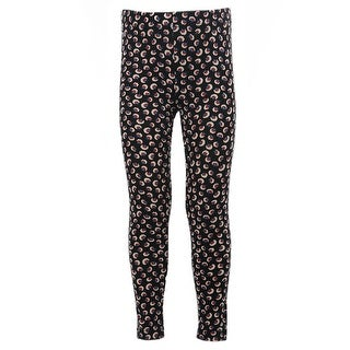 Kids Stretchy Leggings Bottom Trousers navy dandelion