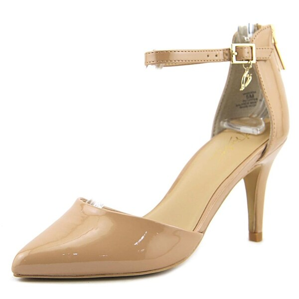 Thalia Sodi Vanesssa Women Pointed Toe Synthetic Nude Heels