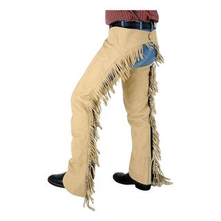Tough-1 Western Chaps Adult Luxury Synthetic Adjustable Cowboy