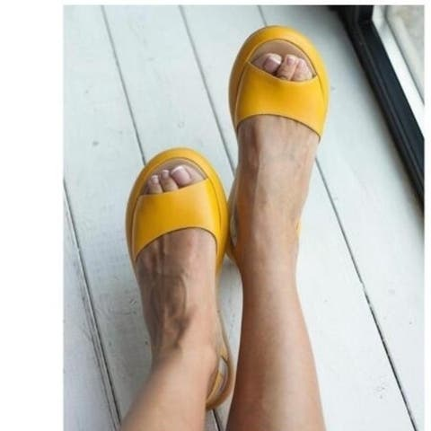 Leather Sandals Flats5 Colors