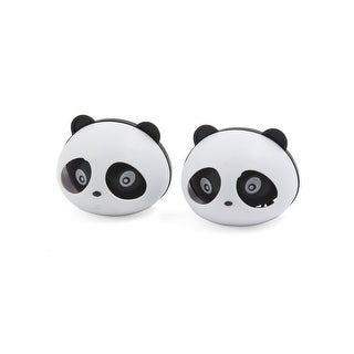 2 Pcs Plastic Panda Style Dashboard Air Freshener Perfume Diffuser for Auto Car