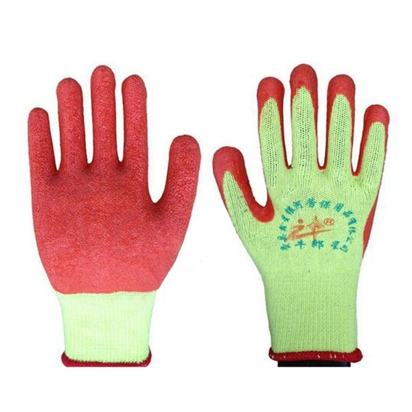 Work Universal Protection Glue Gloves - Red