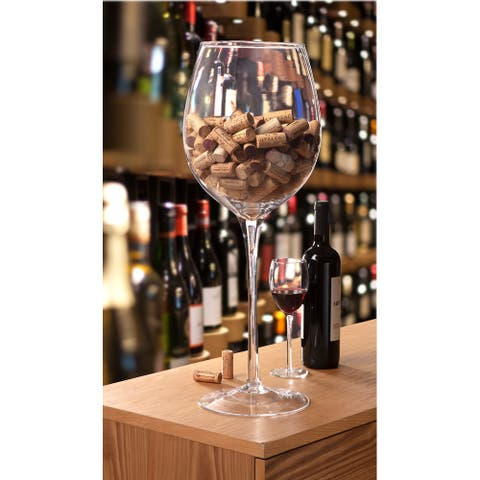 Christopher Knight Oversize Display Wine Glass 24""