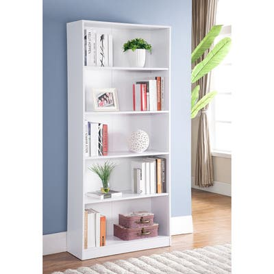 """Q-Max 70.75"""" H Bookcase with five shelves"""