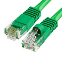 Cat5e Ethernet Network Patch Cable 350 MHz RJ45 - 1.5 Feet Green