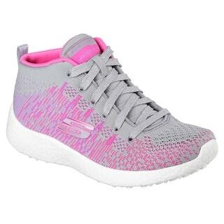 Skechers 81909L GYHP Girl's BURST - SWEET SYMPHONY Sneaker