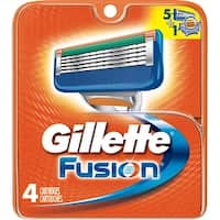 Gillette Fusion Replacement Cartridges 4 ea