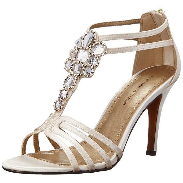 Adrienne Vittadini Womens Georga Open Toe Casual Slide Sandals