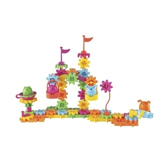 Learning Resources Gears, Gears, Gears! Pet Playland Building Set, Set of 83
