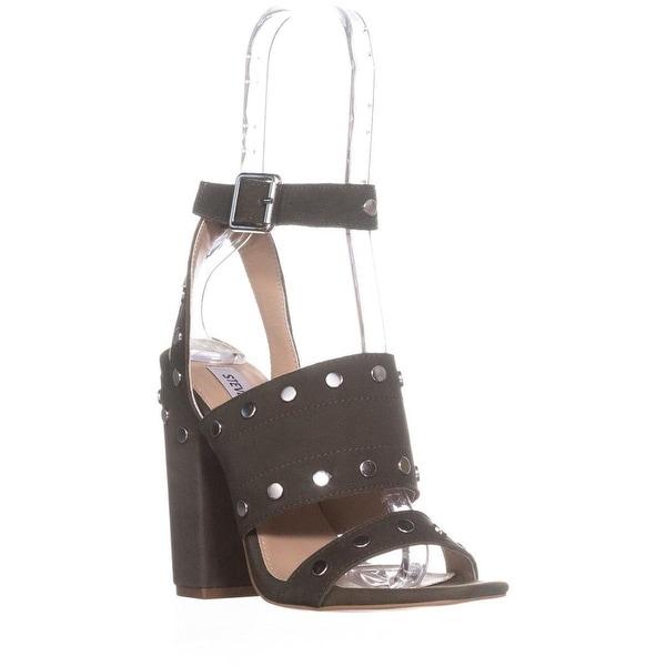 Steve Madden Jansen Ankle-Strap Dress Sandals, Olive