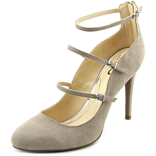 Circus by Sam Edelman Chrissy Round Toe Canvas Heels