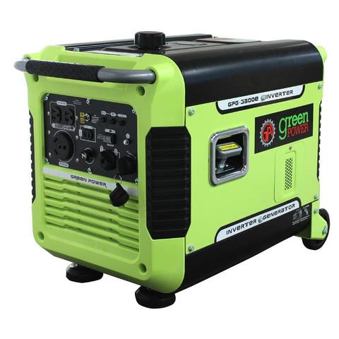3500 Watt Digital Portable Inverter Generator w/Electric Start, CARB