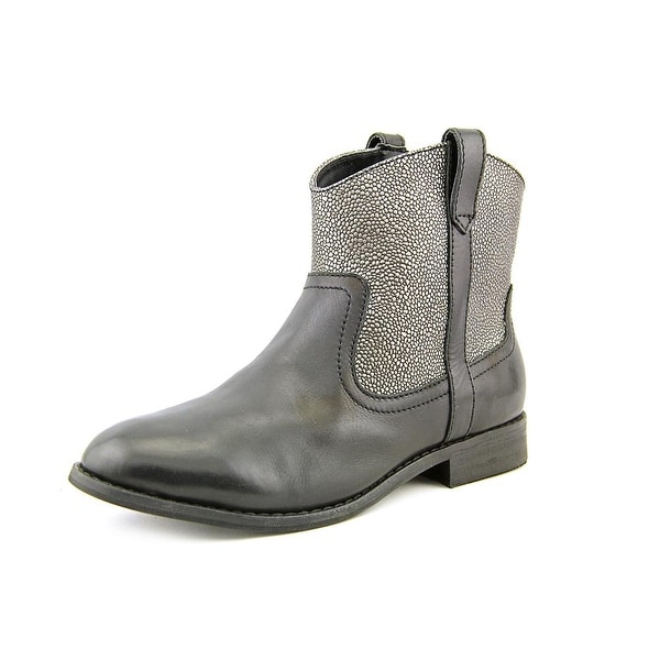 GH Bass & Co Duncan-1 Women Round Toe Leather Ankle Boot
