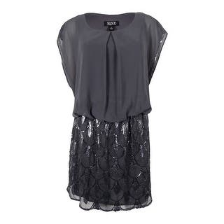 S.L. Fashions Women's Plus-Size Sequined Blouson Chiffon Dress|https://ak1.ostkcdn.com/images/products/is/images/direct/1cb45e947148b27bb3ddbd6acb05dd13fd04aa91/S.L.-Fashions-Women%27s-Plus-Size-Sequined-Blouson-Chiffon-Dress.jpg?impolicy=medium