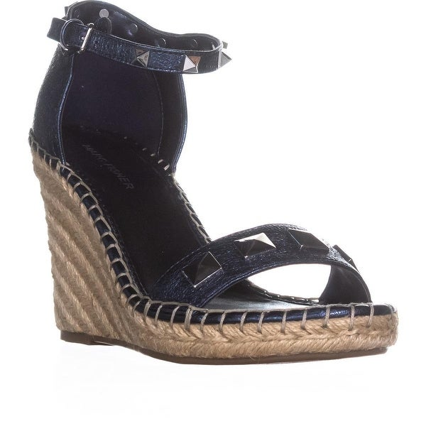 44056a64cf27 Shop Marc Fisher Knoll Studded Wedge Sandals