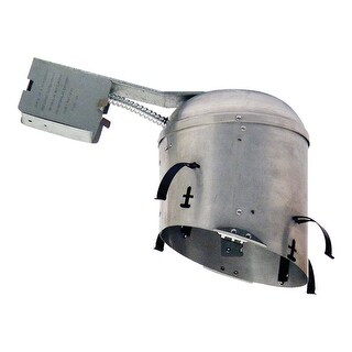 """Design House 515452 6"""" Recessed Non-IC Remodel Light Housing"""