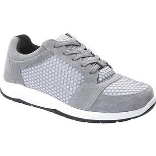 Drew Women's Gemini Walking Shoe Grey Suede/Mesh