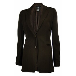 Sutton Studio Women's Deconstructed Jersey Blazer Jacket