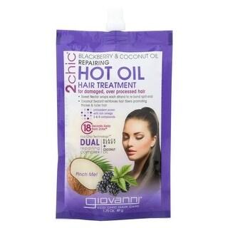 1.75 fl oz Blackberry & Coconut Giovanni 2 Chic Hot Oil Hair