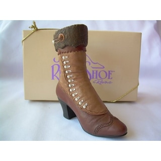 Just the Right Shoe - High Button Boot by Raines - Brown
