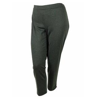 Jones New York Women's Stretch Ankle Length Pants - Charcoal