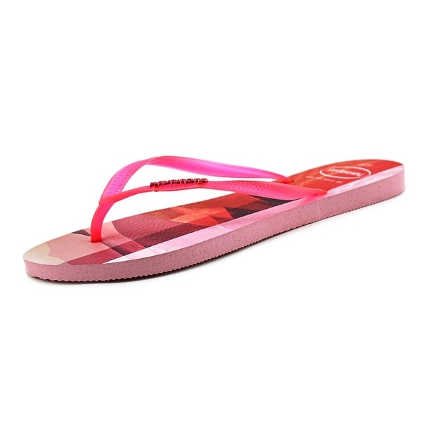 Havaianas Crystal Rose Women Open Toe Synthetic Pink Flip Flop Sandal
