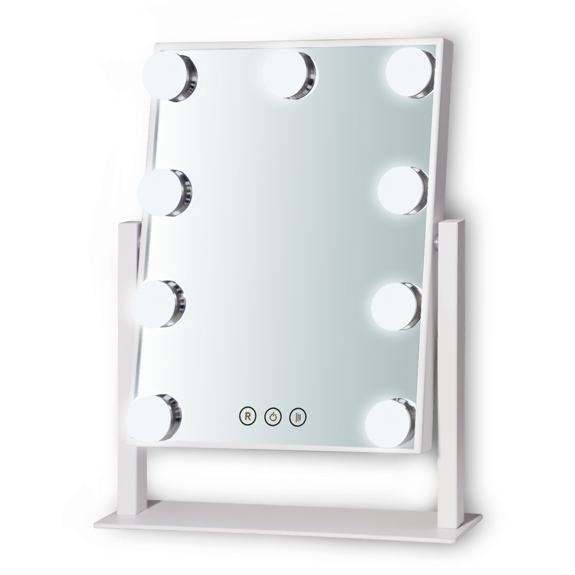 Bsle Makeup Vanity Mirror With Touch Screen 3 Color Lighting Mode Overstock 30717066