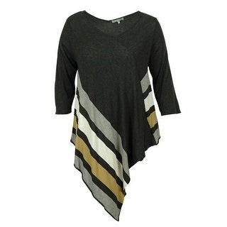 NY Collection Women's Tunic Sweater Top - 1x