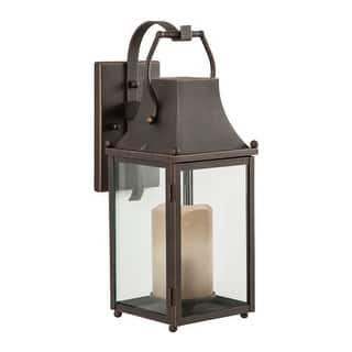 "Park Harbor PHEL3000 Whitby 18"" Tall Single Light Outdoor Wall Sconce