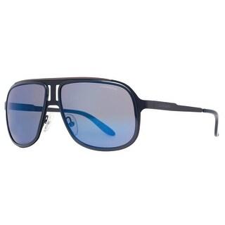 CARRERA Aviator 101/S Unisex KLV XT Blue/Matte Black/Ruthenium Blue/Gray Sunglasses - 59mm-14mm-135mm