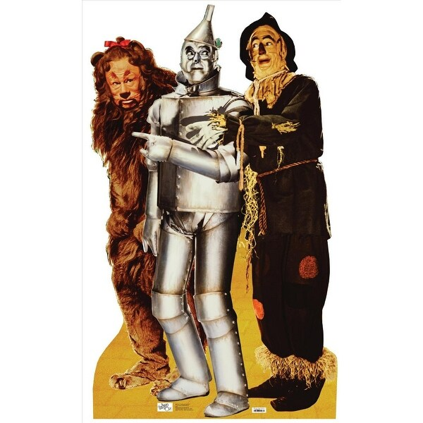 Lion, Tinman And Scarecrow-Wizard Of Oz Lifesized Standup