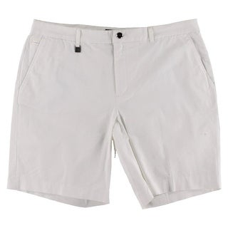 Lauren Ralph Lauren Womens Athletic Shorts Twill Bermuda
