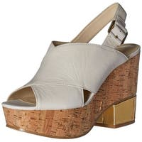 Nine West Womens Imena Open Toe Casual Platform Sandals