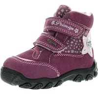 Primigi Girls Akira Goretex Waterproof Cute Fashion Boots - BERRY - 25 m eu / 8.5 m us toddler