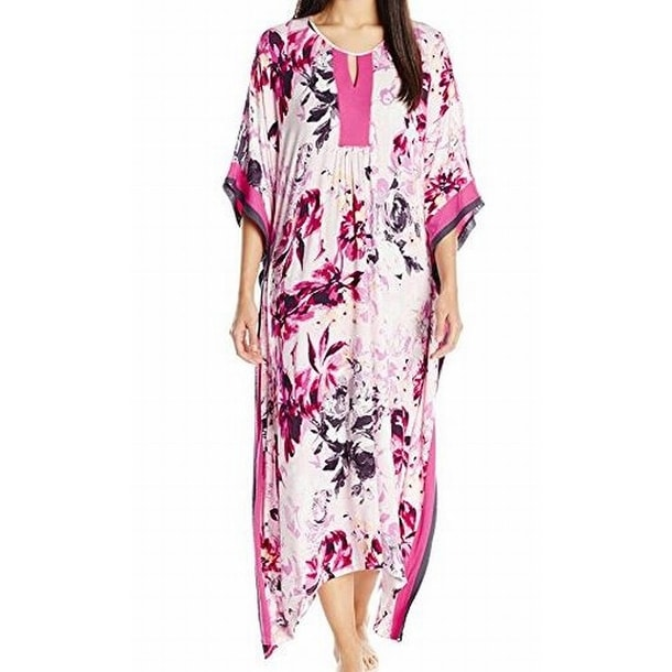Ladies Women/'s New Summer Cool Floral Print Long kaftan dress 12***to 24 Fit