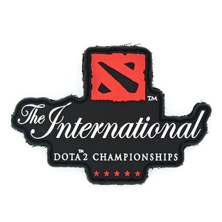 DOTA 2 The International Championships Velcro Patch