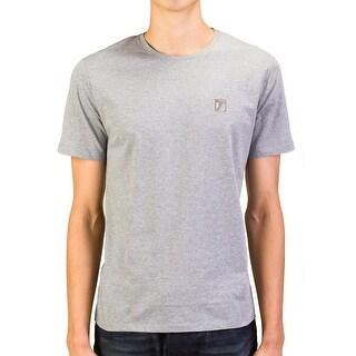 Versace Collection Men Medusa Logo Crew Neck T-Shirt Grey