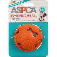 Orange - Aspca Bone Fetch Ball Dog Toy